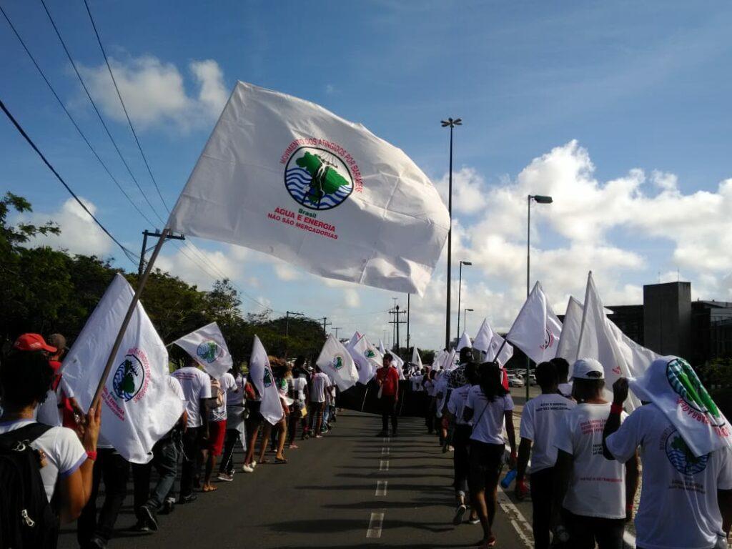 Jornada de Lutas dos Atingidos da Bahia e Pernambuco 2019 em Salvador, BA. (Arquivo MAB)